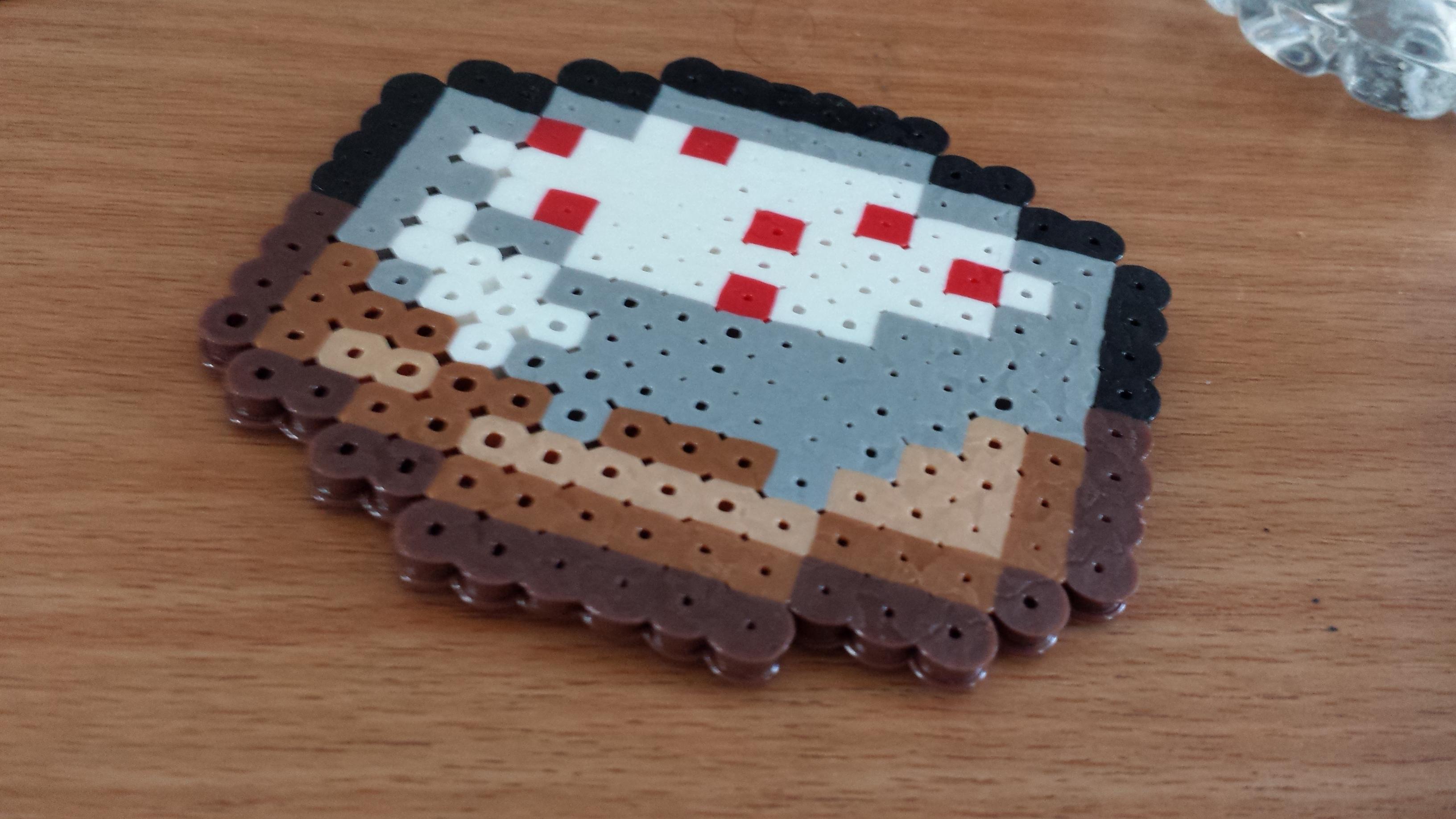 Perler Beads Minecraft Cake | Car Interior Design