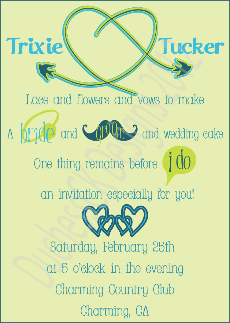 Moustache Party Invitations as best invitation ideas