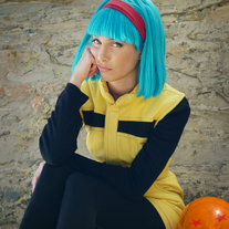 Namek Saga Bulma Cosplay Print #3 medium photo