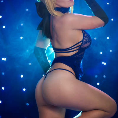 Saber booty (11x17 signed print)