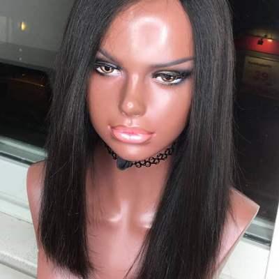 Lace closure bob wig