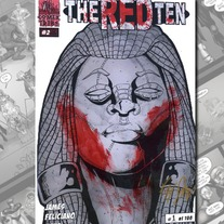 The Red Ten #2 - Bloodsmear Variant