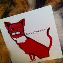 United States of AmeriCATS Stickers