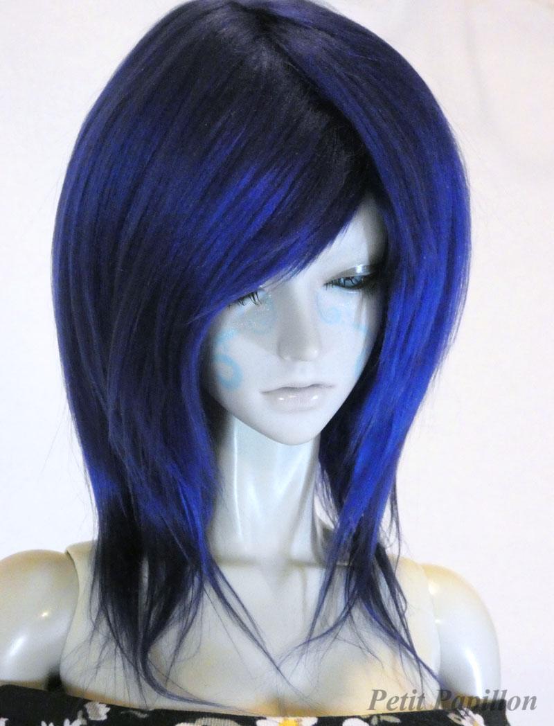 Navy Blue Fringe Bjd Wig 8 Sd Petit Papillon Online Store