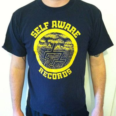 Self aware records t-shirt