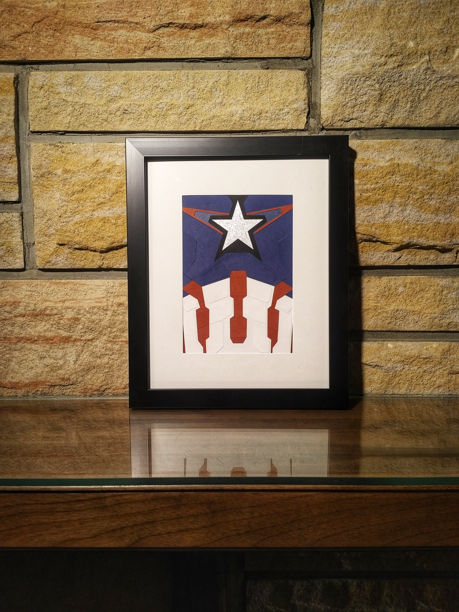 Captain America (Age of Ultron) Wall Art - Framed · Rice Paper ...