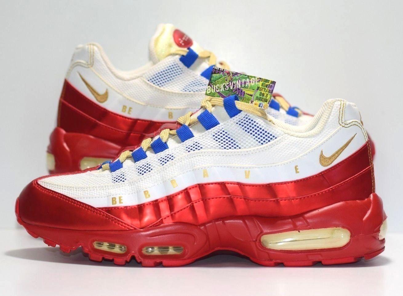 promo code 875d0 70aa9 Size 9 | 2011 Nike Air Max 95 Doernbecher Daniel Blair 507450-180 ...