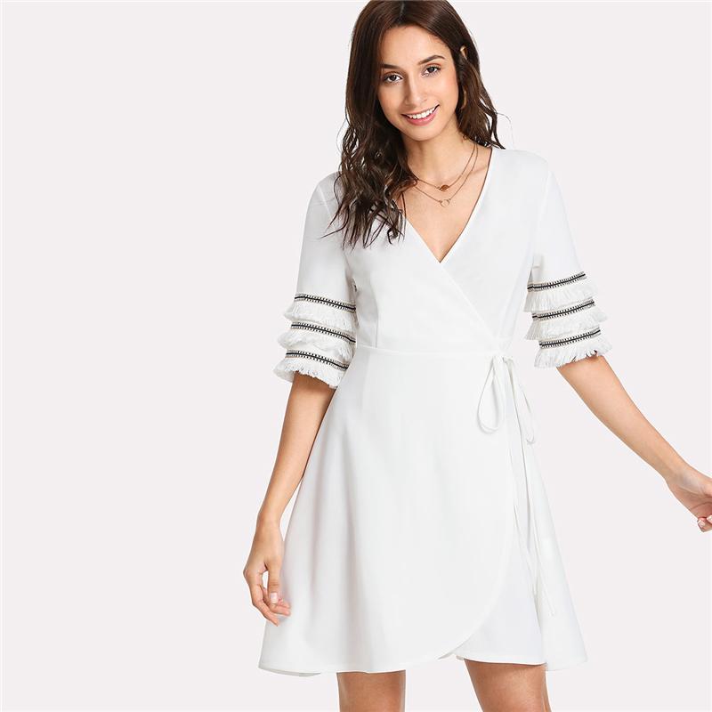 Layered Fringe Dress
