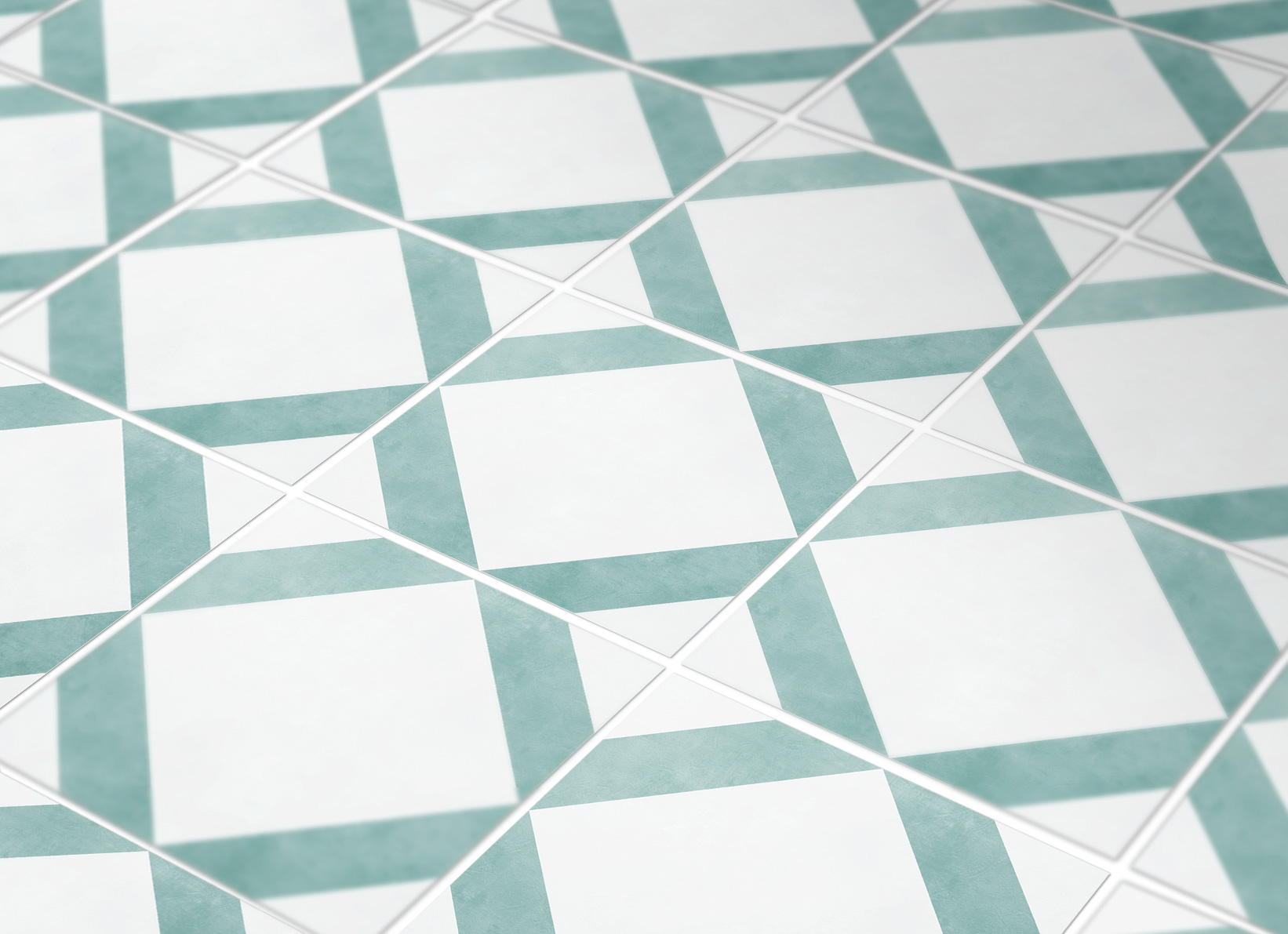 Visby Tile Stickers Classic Style Tile Decal Floor Tile Decal