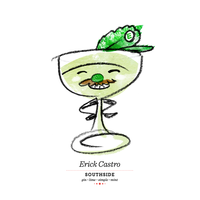 """Drinkify Me!"" Personalized Cocktail Illustration - Thumbnail 2"