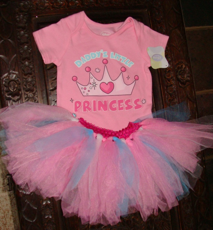 Daddys Little Princess Disney Onesie is paired with a wonderful fluffy