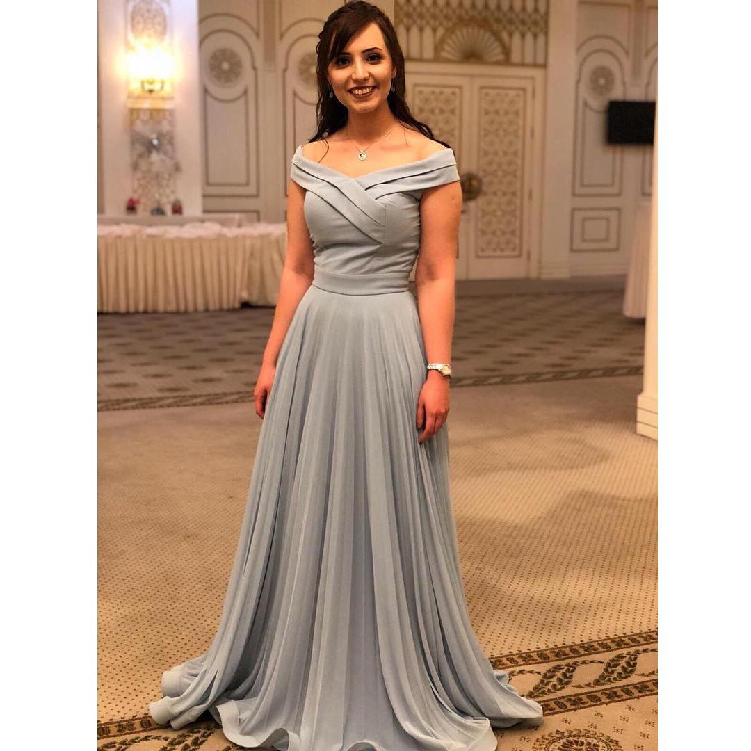 Elegant Silver Dresses