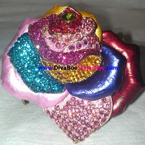 Multi-Color Flower Bracelet