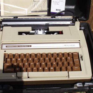 Electric Typewriter circa 1970