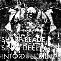 "Defeatist ""Sharp Blade Sinks Deep Into Dull Minds"" CD"