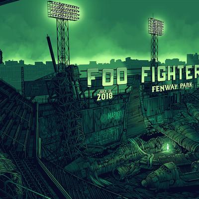 Foo fighters at fenway park set