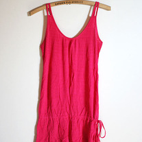 Hot Pink Striped Tank