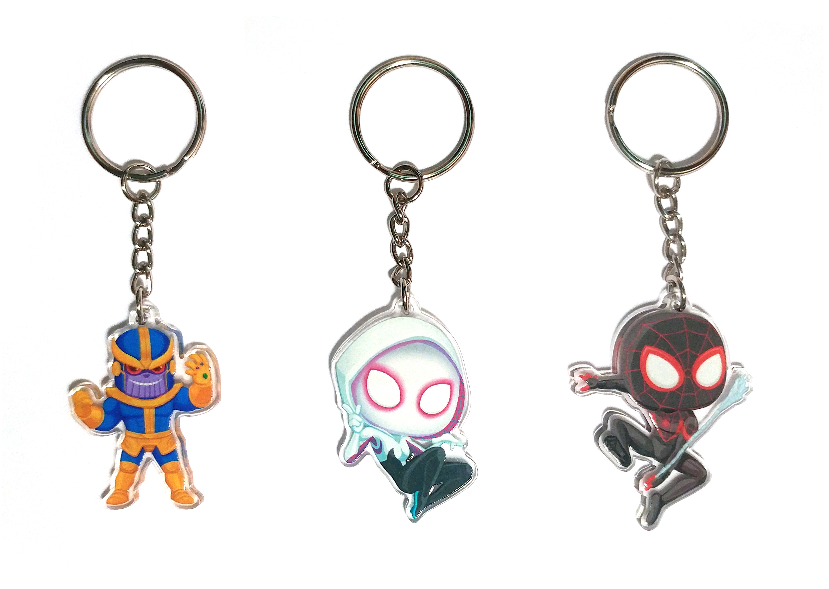 Marvel Charm Keychains on Storenvy