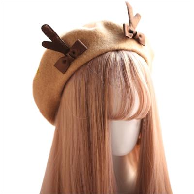 New stylish cute christmas antler cap