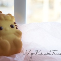 Squishy Hello-Kitty Moon Cake