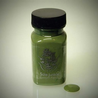 2oz sole junkie custom acrylic sneaker shoe paint - avocado