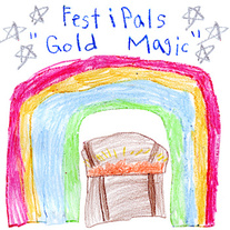 "Festipals - ""Gold Magic"" 7"""
