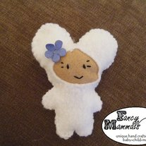 White Mouse Mini Plush