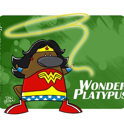 i platypus wonder platypus large print thumbnail 1