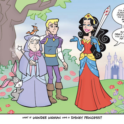 "Art card: ""wonder princess"""