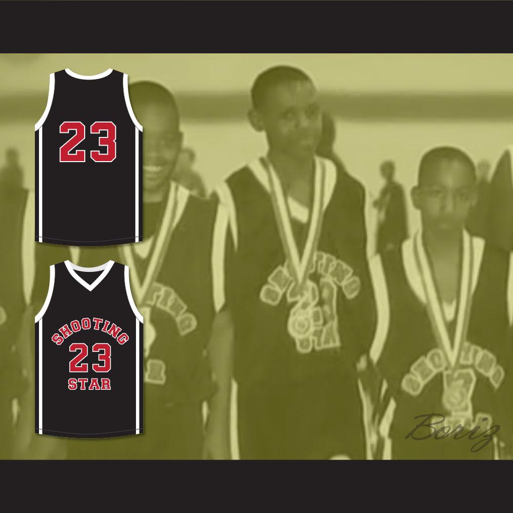 ... Lebron James 23 Ohio Shooting Stars AAU Black Basketball Jersey More  Than A Game - Thumbnail ... 45fcf4b09