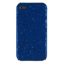 Blue Sparkle Caze (iPhone 4/4s)