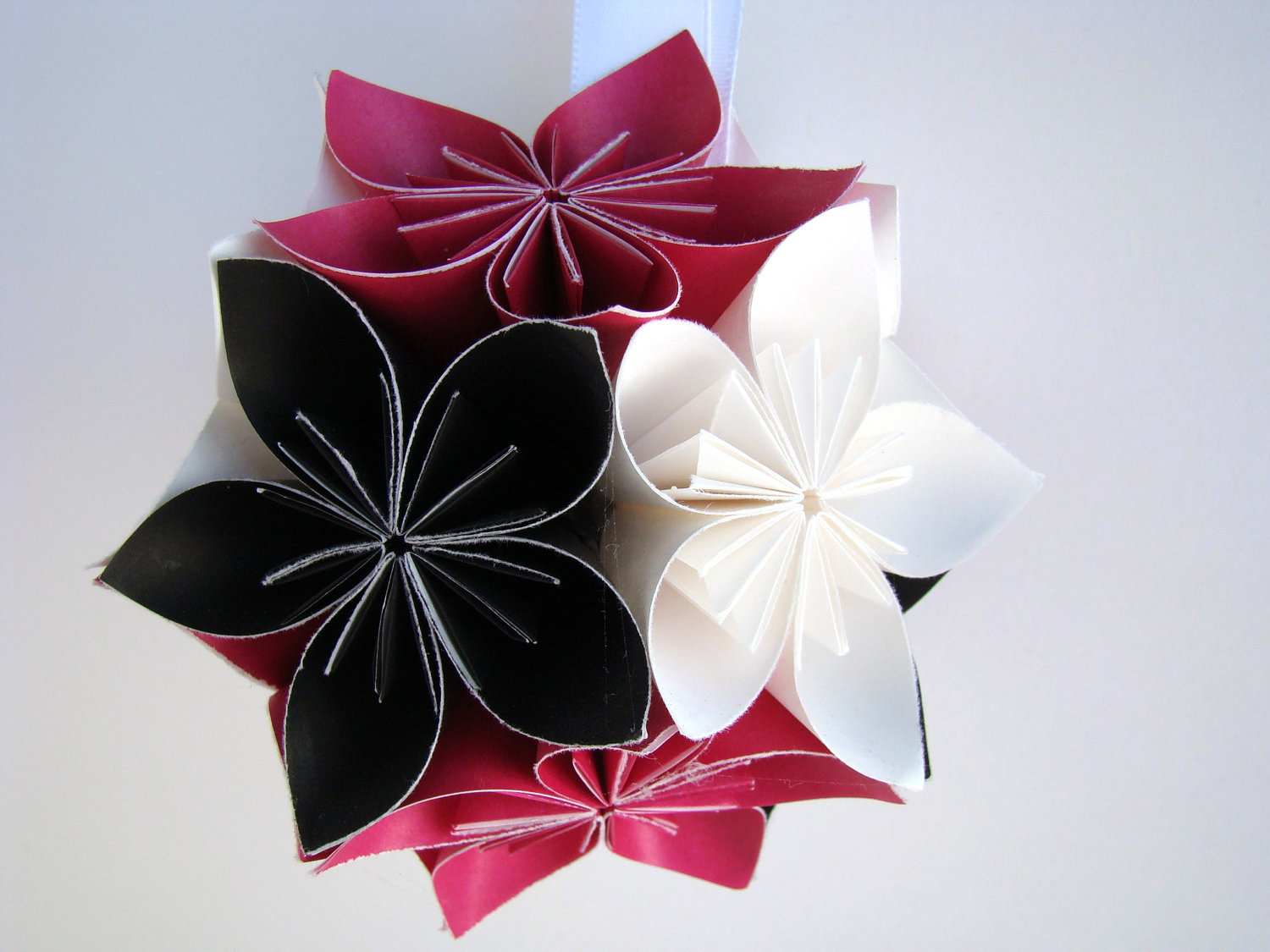 Small kusudama flower ball you pick the colors origami small kusudama flower ball you pick the colors thumbnail 1 dhlflorist Image collections
