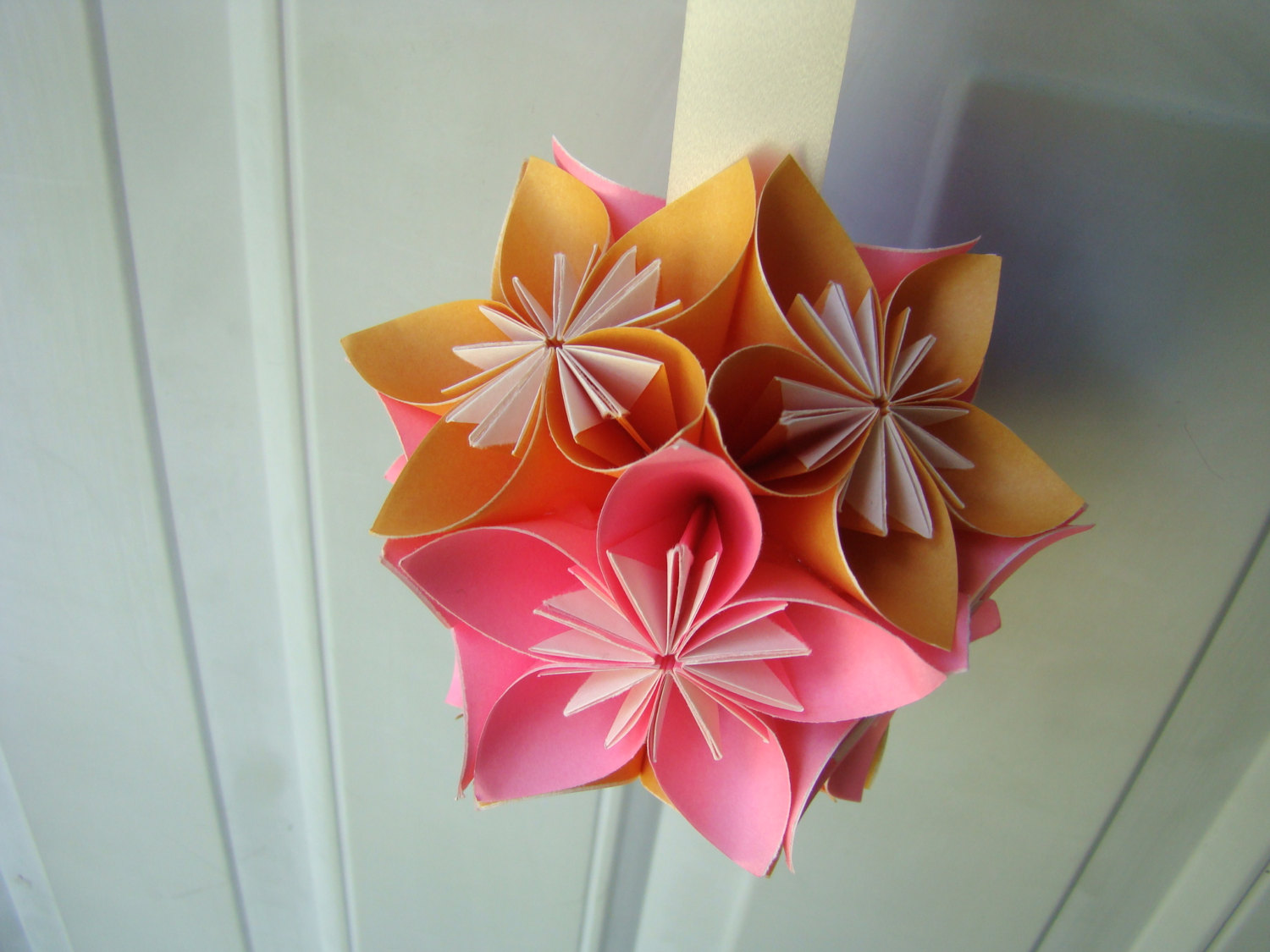 origami flower kusudama ball wwwimgkidcom the image