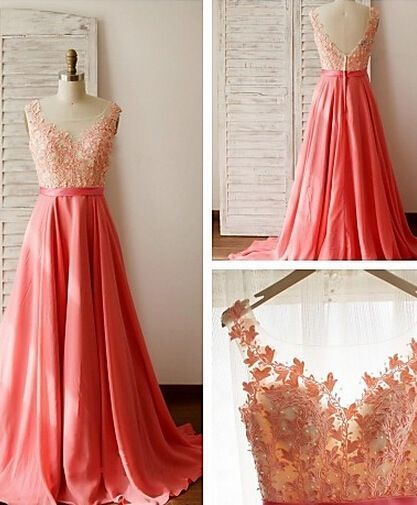 Coral Prom Dresses 2019