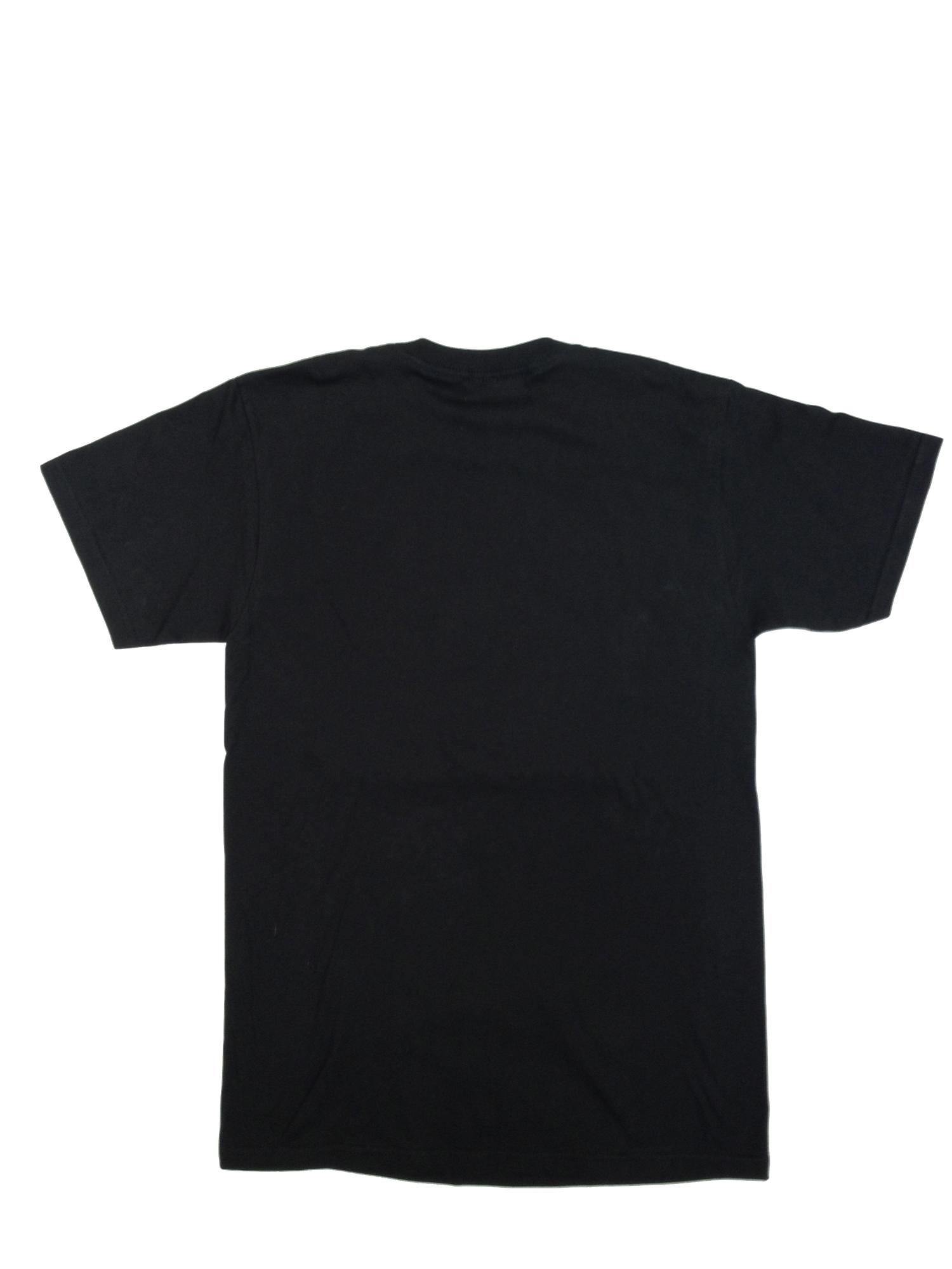 The gallery for black shirt front and back png for Back t shirt template
