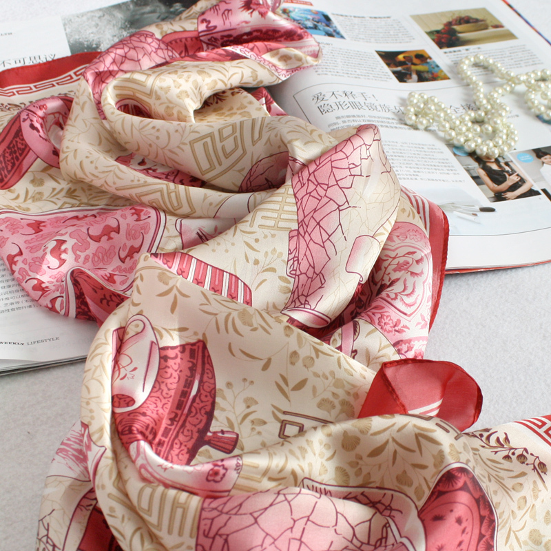 10 97 availability description head scarves women silk square scarf  Square Scarves Women Uk