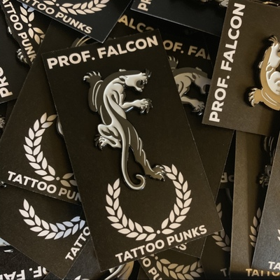 Panther Pin - Prof. Falcon