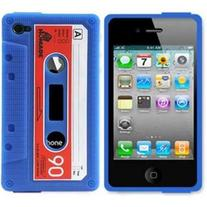 Blue Cassette Case (iPhone 3/3s)