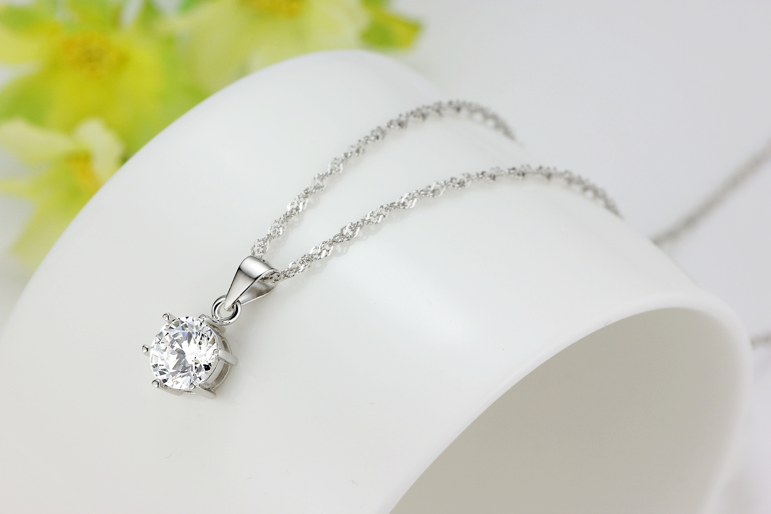 Sterling 925 silver love pendant necklace jewelry set with cubic sterling 925 silver love pendant necklace jewelry set with cubic zirconia cz gemstone diamonds pendant and aloadofball Image collections