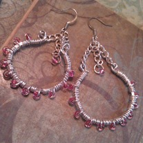 Pink Vianca Earrings
