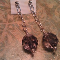 Grey Judy Earrings