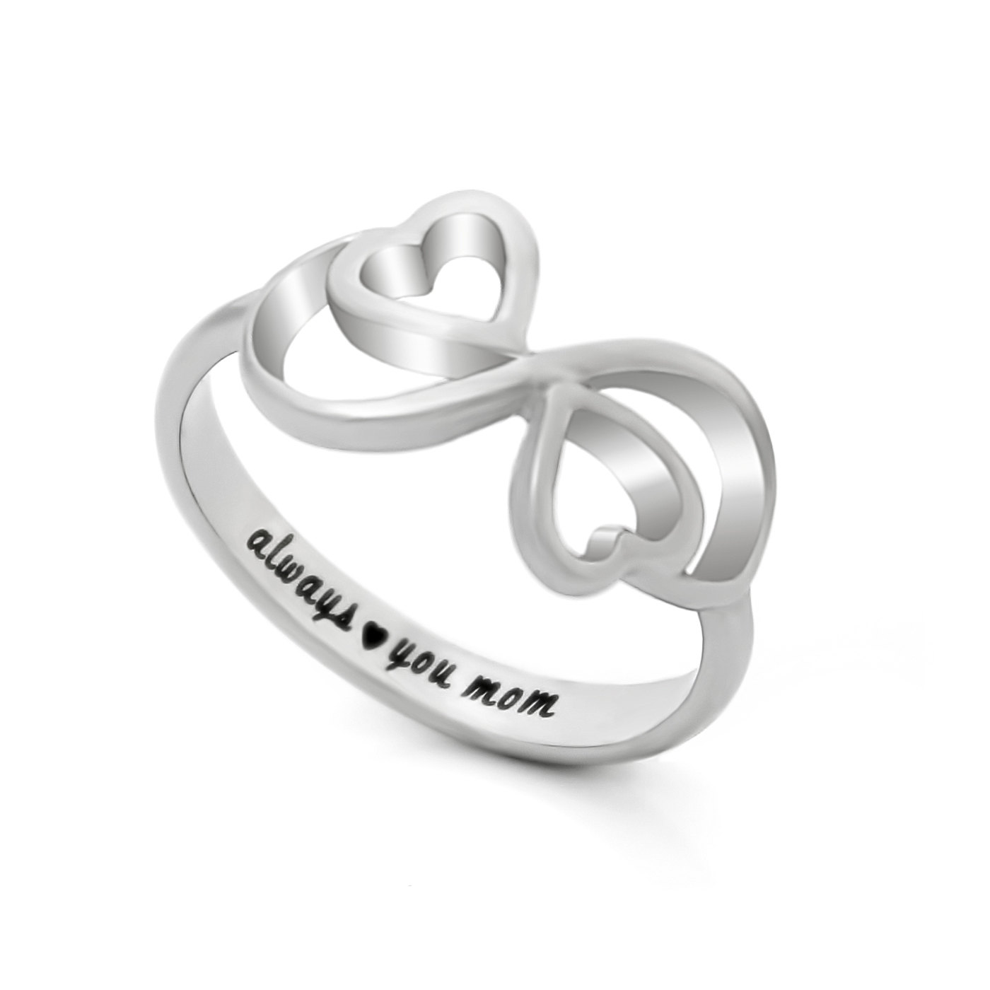 tzaro jewelry mothers ring hearts infinity ring