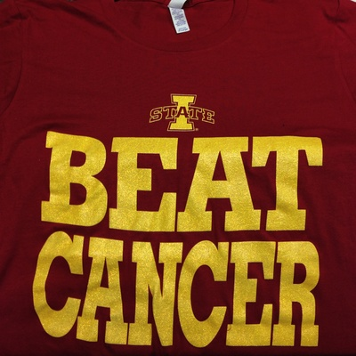 Isu ladies beat cancer t-shirt