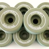 Cottrell Silentred Clay Roller Skate Wheels - Thumbnail 4