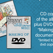 The Apprentice-Oh the Slavery Comfort Brings CD/DVD Combo