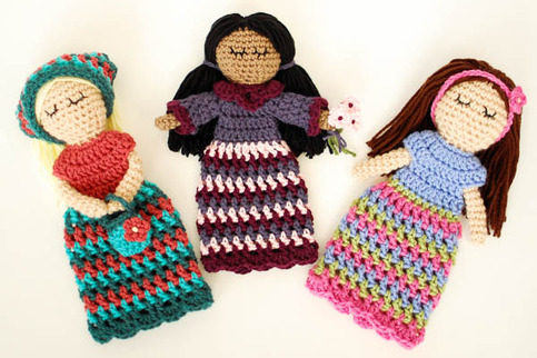 Crochet Pattern Customizable Doll With Lots Of Extras Petals To