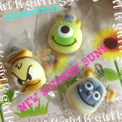 Stitch Squishy Bun : ~SquishyStuff~ Squishy Online Store Powered by Storenvy