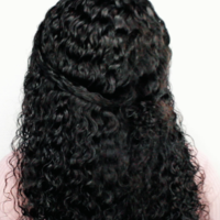 Natural Wave Handmade Human Hair Wig - Thumbnail 3