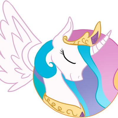 Princess celestia sticker