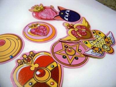 sailor moon brooch  Sailor Moon Brooch and